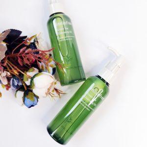 Olej hydrofilowy z zieloną herbatą Innisfree Green Tea Cleansing Oil 4