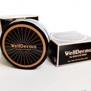 Platki odmładzające z germanem i złotem WellDerma Ge Gold Eye Mask 1