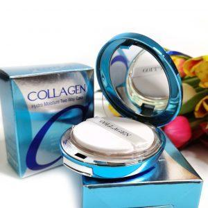 Puder nawilżający z kolagenem Enough Collagen Hydro Moisture Two Way Cake SPF25 PA++ 1