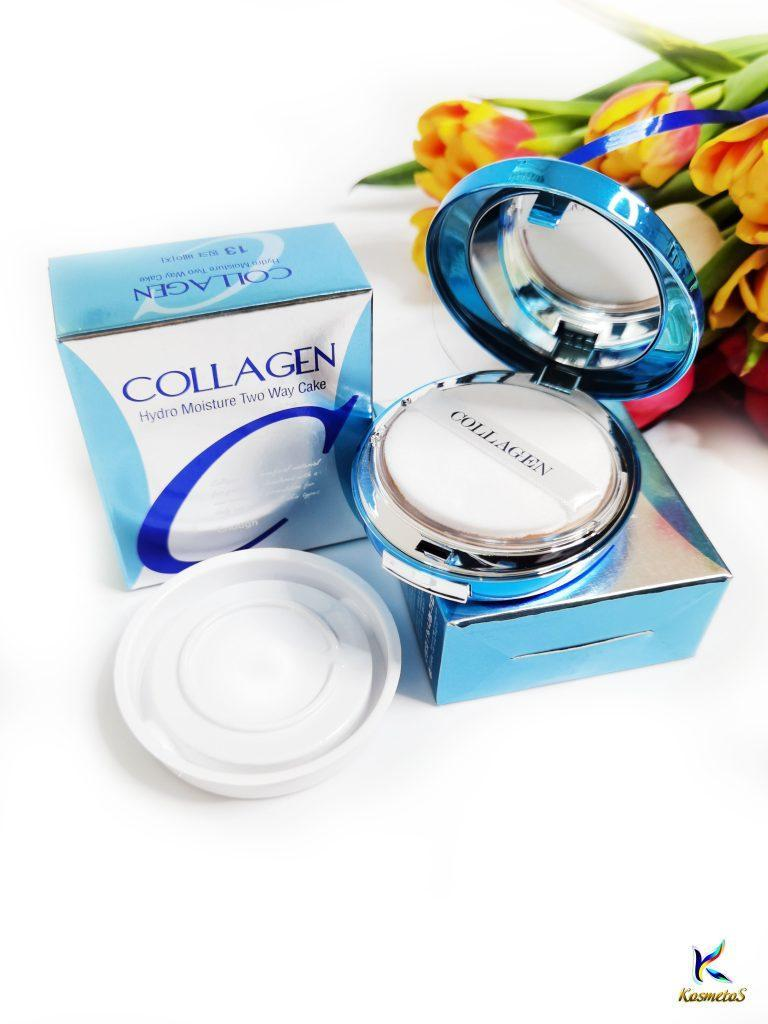 Puder nawilżający z kolagenem Enough Collagen Hydro Moisture Two Way Cake SPF25 PA++ 2