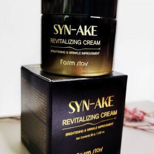 Regenerujący krem do twarzy z peptydem węża Farm Stay Syn-Ake Revitalizing Cream 1