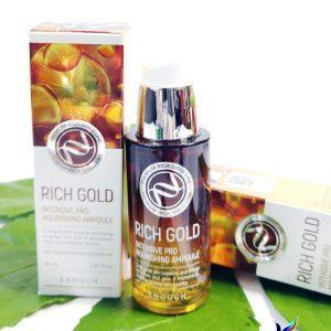 Serum regenerujące ze składnikami złota Enough Rich Gold Intensive Pro Nourishing Ampoule 3