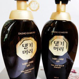 Szampon wzmacniający do tłustej skóry głowy Daeng Gi Meo Ri New Gold Special Shampoo 3