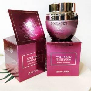 3W CLINIC Collagen Nourising Cream 4