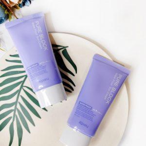 Wodoodporny krem do opalania A'PIEU Pure Block Water Proof Sun Cream SPF50+ PA+++ 2