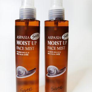 Tonik ujędrniający-mist z mucyną ślimaka Aspasia Moist up Face mist snail 1