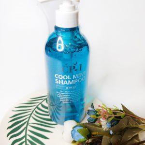 Szampon chłodzący z miętą CP-1 Head Spa Cool Mint Shampoo 2