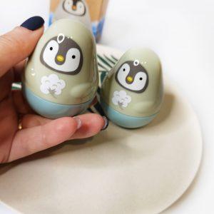 Krem do rąk z ekstraktami ziołowymi i naturalnymi olejkami Etude House Missing you Hand Cream 30ml No.Fairy Penguin 2