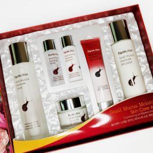 FarmStay Snail mucus moisture Skin Care zestaw 11