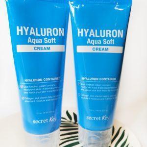 Hialuronowy Krem do twarzy Secret Key Hyaluron Aqua Soft Cream 11