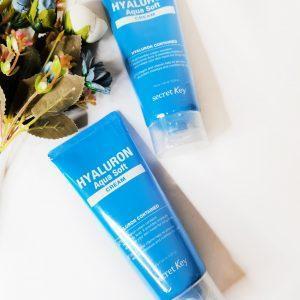 Hialuronowy Krem do twarzy Secret Key Hyaluron Aqua Soft Cream 13