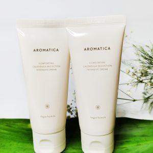 Kojący krem z wywarem z nagietka AROMATICA Comforting Calendula Decoction Intensive Cream 11