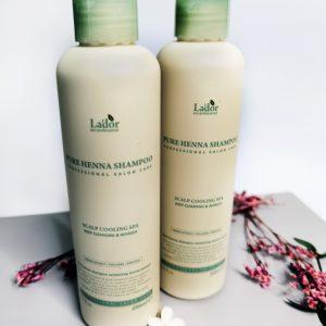 Szampon z henną przeciw wypadaniu włosów La'dor Pure Henna Shampoo 11
