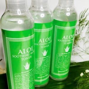 Toner z aloisem Secret Key Aloe Soothing Moist Toner 12