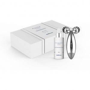 Zestaw liftingujący z kolagenem Wellderma Collagen Beauty Care Serum & Roller Set 50ml