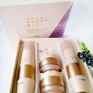Zestaw pielęgnacyjny anti-aging z komórkami macierzystymi The Saem Snail Essential Ex Wrinkle Solution Skin Care Set 1