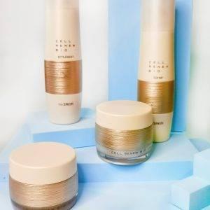 Zestaw pielęgnacyjny anti-aging z komórkami macierzystymi The Saem Snail Essential Ex Wrinkle Solution Skin Care Set 2
