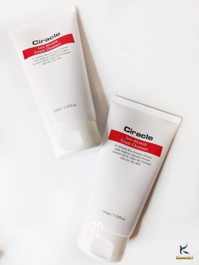 ciracle anti-blemish foam cleanser 4