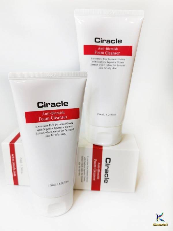ciracle anti-blemish foam cleanser 5