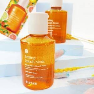 BLITHE Patting Splash Mask Energy Yellow Citrus & Honey 1