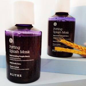 BLITHE Patting Splash Mask Rejuvenating Purple Berry 1