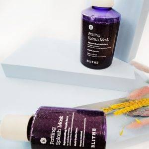 BLITHE Patting Splash Mask Rejuvenating Purple Berry 2