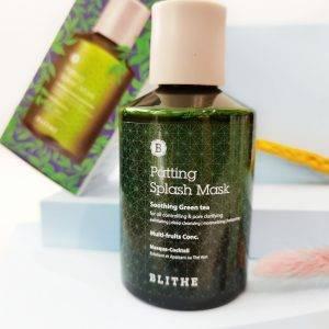 BLITHE Patting Splash Mask Soothing Green Tea 1