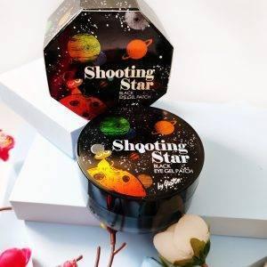 Czarne platki hydrożelowe na skórę wokół oczu Gaston Shooting Star Black Eye Gel Patch 1