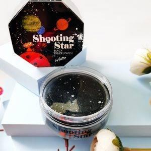 Czarne platki hydrożelowe na skórę wokół oczu Gaston Shooting Star Black Eye Gel Patch 4