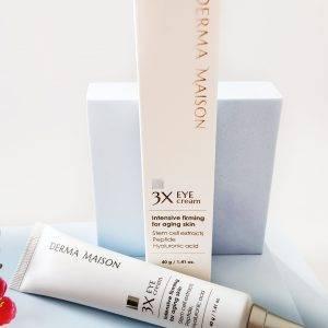 Krem pod oczy z komórkami macierzystymi i peptydami MEDI-PEEL Derma Maison 3X Eye Cream 4