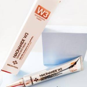 Miejscowy krem rozjaśniający z niacynamidem Medi-Peel Niacine W3 Toning Spot Cream 1