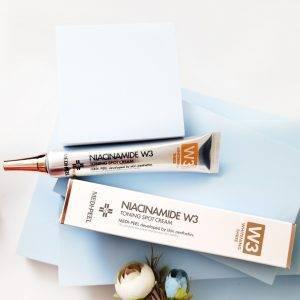 Miejscowy krem rozjaśniający z niacynamidem Medi-Peel Niacine W3 Toning Spot Cream 4
