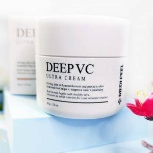 Odżywczy krem witaminowy dla skóry promiennej Medi-Peel Dr.Deep VC Ultra Cream 1