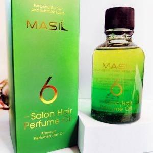 Perfumowany olejek do włosów Masil 6 Salon Hair Perfume Oil 1