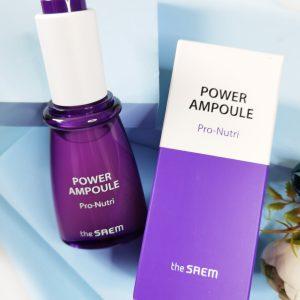 Ampułka intensywnie odżywiająca skórę THE SAEM Power Ampoule Pro-Nutri 1