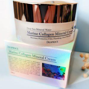Deoproce Marine Collagen Mineral Cream Deep Sea Mineral Water 1