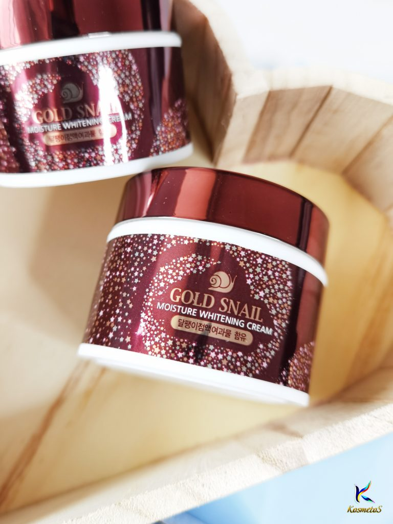 Enough Gold Snail Moisture Whitening Cream 4