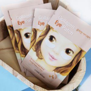 Kolagenowe platki na powieki z efektem liftingującym Etude House Collagen Eye Patch 1