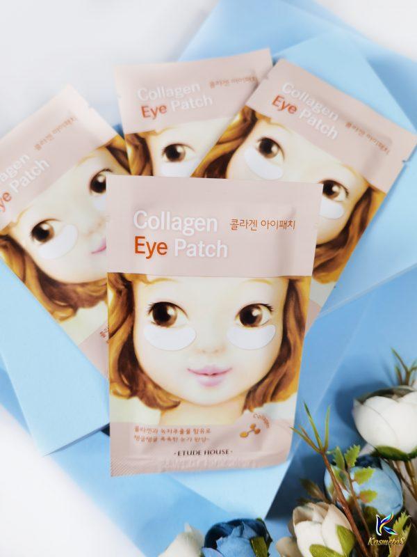 Kolagenowe platki na powieki z efektem liftingującym Etude House Collagen Eye Patch 2