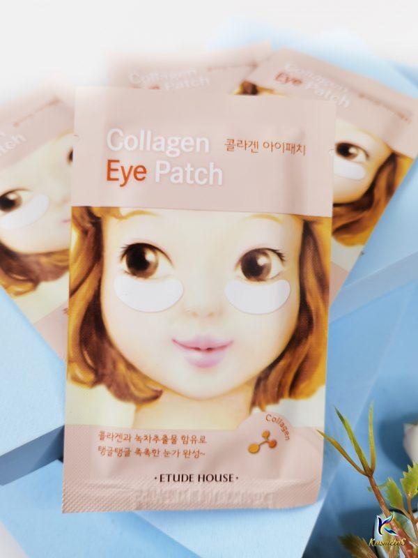 Kolagenowe platki na powieki z efektem liftingującym Etude House Collagen Eye Patch 3