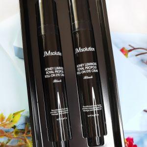 Przeciwzmarszczkowy krem pod oczy z propolisem JM Solution Honey Luminous Royal Propolis Roll-On Eye Cream 1