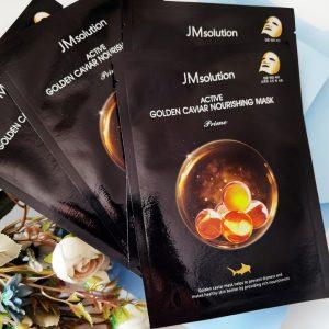 JM Solution Active Golden Caviar Nourising Mask 1