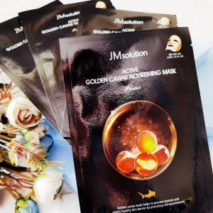 JM Solution Active Golden Caviar Nourising Mask 2