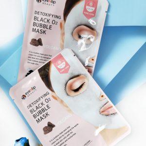 Maseczka Eyenlip Detoxifying Black O2 Bubble Mask 3