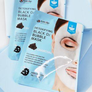 Maseczka Eyenlip Detoxifying Black O2 Bubble Mask Charcoal 1