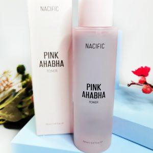 Nacific PINK AHABHA Toner 1