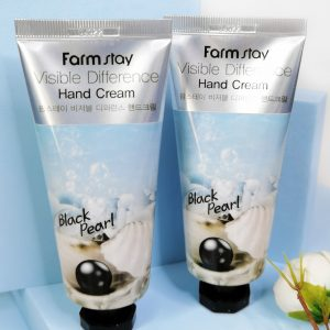 FarmStay Visible Difference Hand Cream Black Pearl 100ml 1