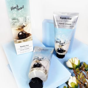 FarmStay Visible Difference Hand Cream Black Pearl 100ml 2