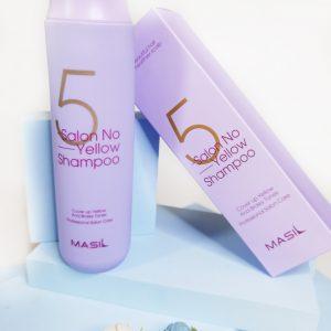 Masil 5 Salon No Yellow Shampoo 4
