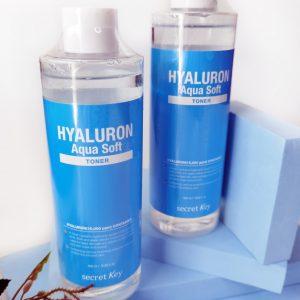 Nawilżający hialuronowy tonik do twarzy Secret Key Hyaluron Soft Toner 1